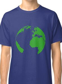 Planet earth map Classic T-Shirt