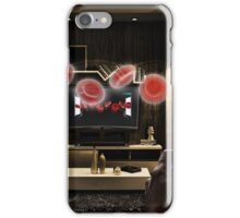 Blood Cell Pong iPhone Case/Skin