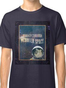 Journey Through Meowter Space Classic T-Shirt