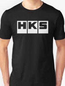 HKS Car Tuning White Unisex T-Shirt