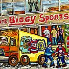 DISCOVER VERDUN BIGGY'S SPORTS STORE WELLINGTON STREET by Carole  Spandau