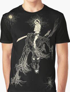 Wallace Smith - Black Horse - Fantazius Mallare Graphic T-Shirt