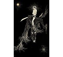 Wallace Smith - Black Horse - Fantazius Mallare Photographic Print
