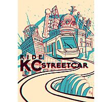Exclusive ORIGINAL VERSION - KC Streetcar Grand Opening Commemorative Poster Photographic Print