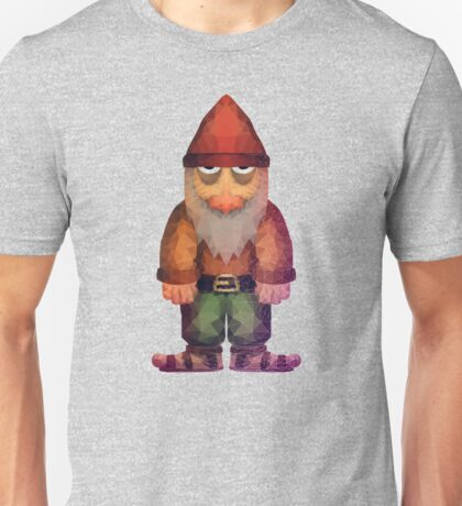 Angry Little Polygon Dwarf Unisex T-Shirt