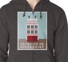 Cincinnati BB Riverboat Zipped Hoodie