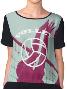 Volleyball  Chiffon Top