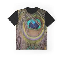 Peacock Plumage Graphic T-Shirt