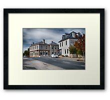 Bridge Street Richmond Framed Print