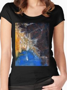 Wagner, The Symphonic Ring- Original acrylic  painting on Canvas by Russian Artist Women's Fitted Scoop T-Shirt