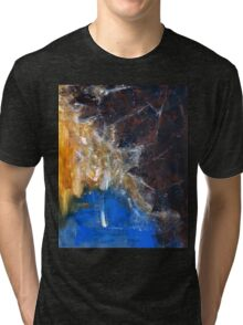 Wagner, The Symphonic Ring- Original acrylic  painting on Canvas by Russian Artist Tri-blend T-Shirt