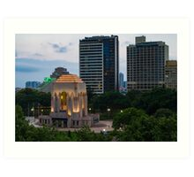 Hyde Park (Sydney): Evening Art Print