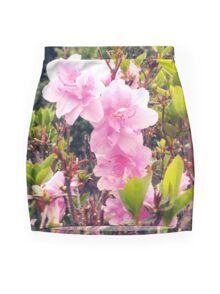 Pink Ladies Mini Skirt