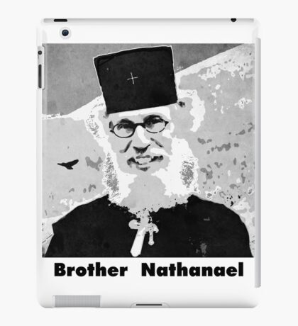 Brother Nathanael with Title iPad Case/Skin
