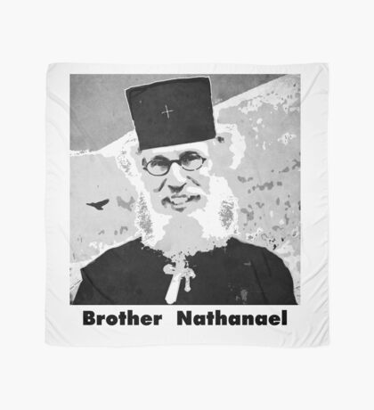 Brother Nathanael with Title Scarf