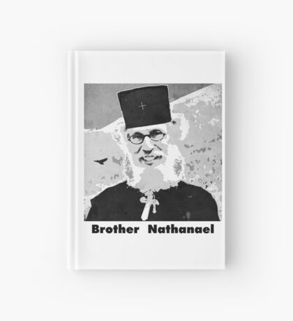 Brother Nathanael with Title Hardcover Journal
