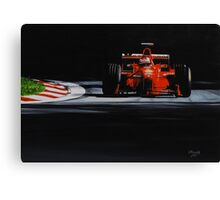 Michael Schumacher, Ferrari F300 Canvas Print