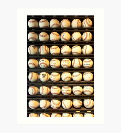 Baseball - You have got some balls there Art Print