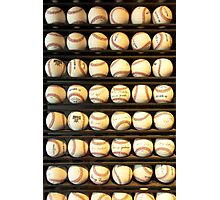 Baseball - You have got some balls there Photographic Print