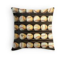 Baseball - You have got some balls there Throw Pillow