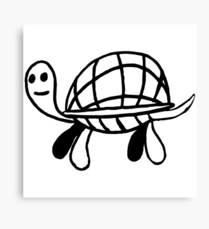 Turtle / Tortoise Merch (Goofy) Canvas Print