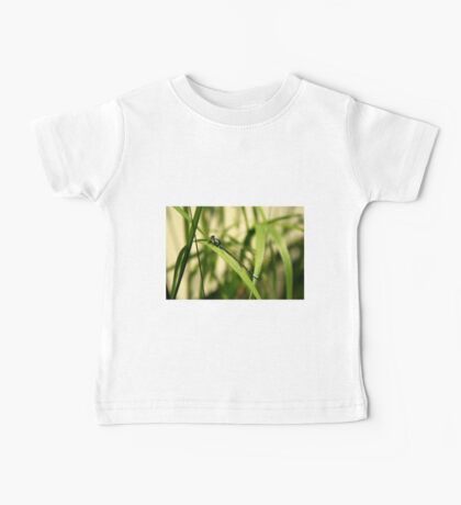 Blue Dragonfly Baby Tee