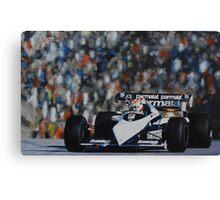 Nelson Piquet, Brabham BT52B Canvas Print