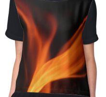 Flame Chiffon Top