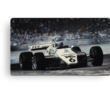 Keke Rosberg Canvas Print