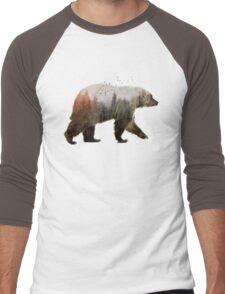 Bear Men's Baseball ¾ T-Shirt