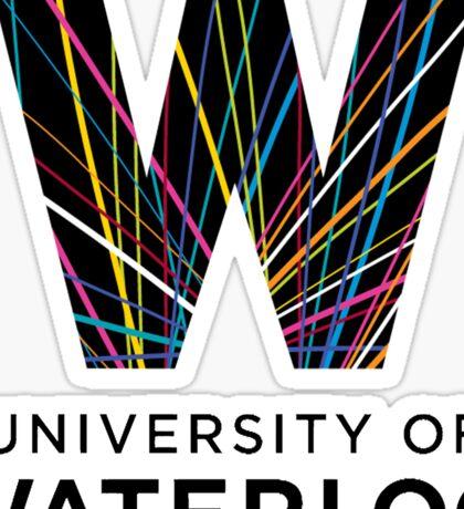 University of Waterloo Logo Sticker