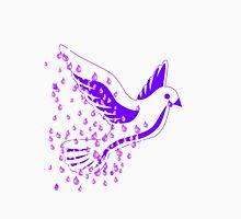 Purple Dove Rain Unisex T-Shirt