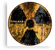 Stalker Radiation Symbol Canvas Print
