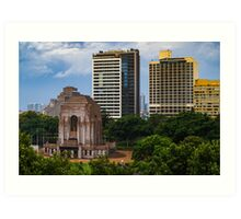 Hyde Park (Sydney): After The Rain Art Print