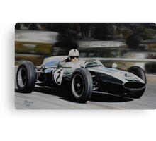 Jack Brabham, Cooper T53 Canvas Print