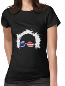 Bernie Patriotic 2016 Womens Fitted T-Shirt
