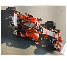 Kimi Raikkonen, Ferrari F2008 Poster
