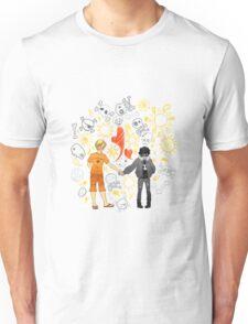 Solangelo Suns and Skulls Unisex T-Shirt