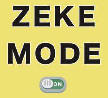 Zeke Mode - ON One Piece - Short Sleeve
