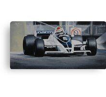 Nelson Piquet, Brabham BT49C Canvas Print