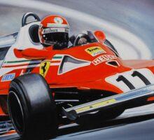 Niki Lauda, Ferrari 312T2 Sticker