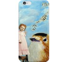 Music To My Ears - vintage musical whimsy  iPhone Case/Skin