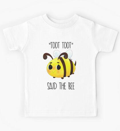"""""""Toot, Toot"""" Kids Tee"""
