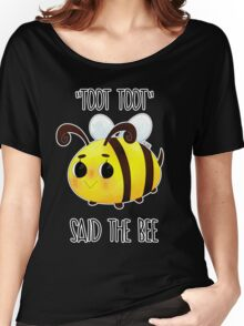 """""""Toot, Toot"""" Women's Relaxed Fit T-Shirt"""