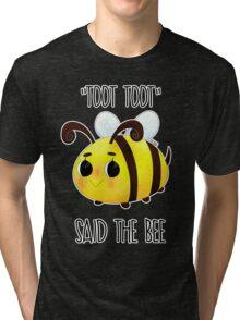 """Toot, Toot"" Tri-blend T-Shirt"