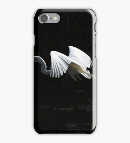 Great Heron Flying iPhone Case/Skin