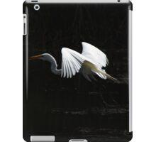 Great Heron Flying iPad Case/Skin