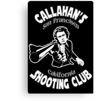 Callahan's Shooting Club Canvas Print