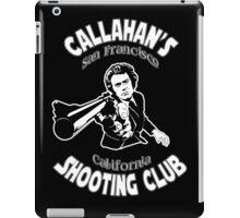 Callahan's Shooting Club iPad Case/Skin
