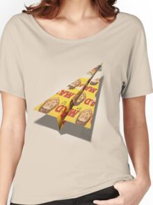MAD Paper Airplane 148 Women's Relaxed Fit T-Shirt